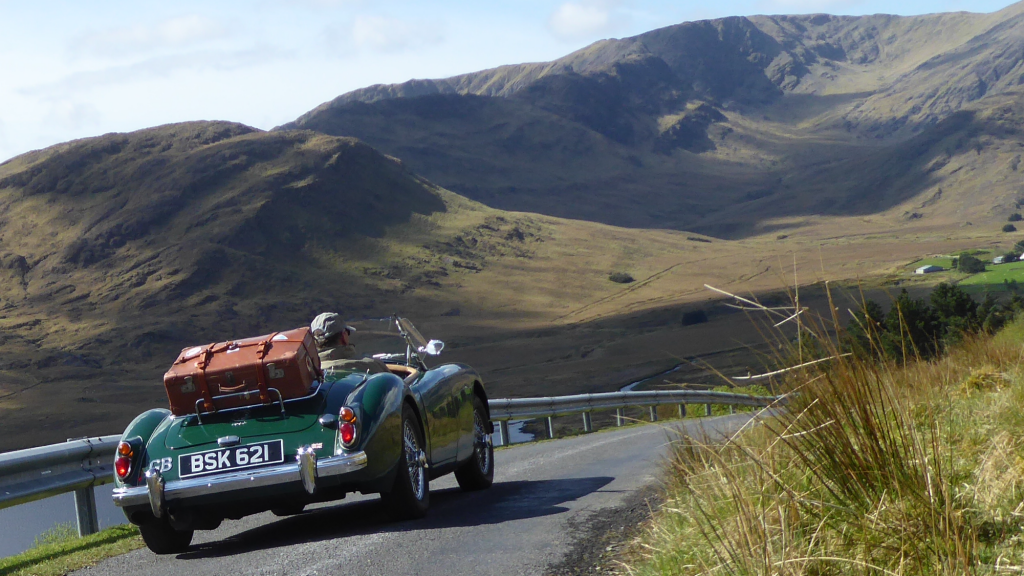 Touring the West Coast of Ireland 2017 with the MGOC in my MGA