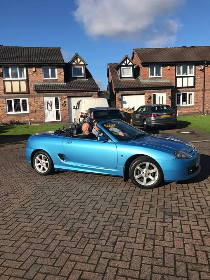 First outing in my newly purchased  MG TF 135