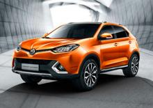MG RELEASE IMAGES OF BRAND NEW MG SPORTS UTILITY VEHICLE